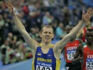 Переможний фініш Івана Гешка на дистанції 1500 м на Чемпіонаті світу в приміщенні 2006 р. Фото Георгія Мазурашу