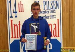 Нещодавно Валерій Чоботар виграв міжнародний турнір «14th Euro Grand Prix – Pilsen»