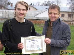 Олександр Козак-молодший і Віктор Мглинець