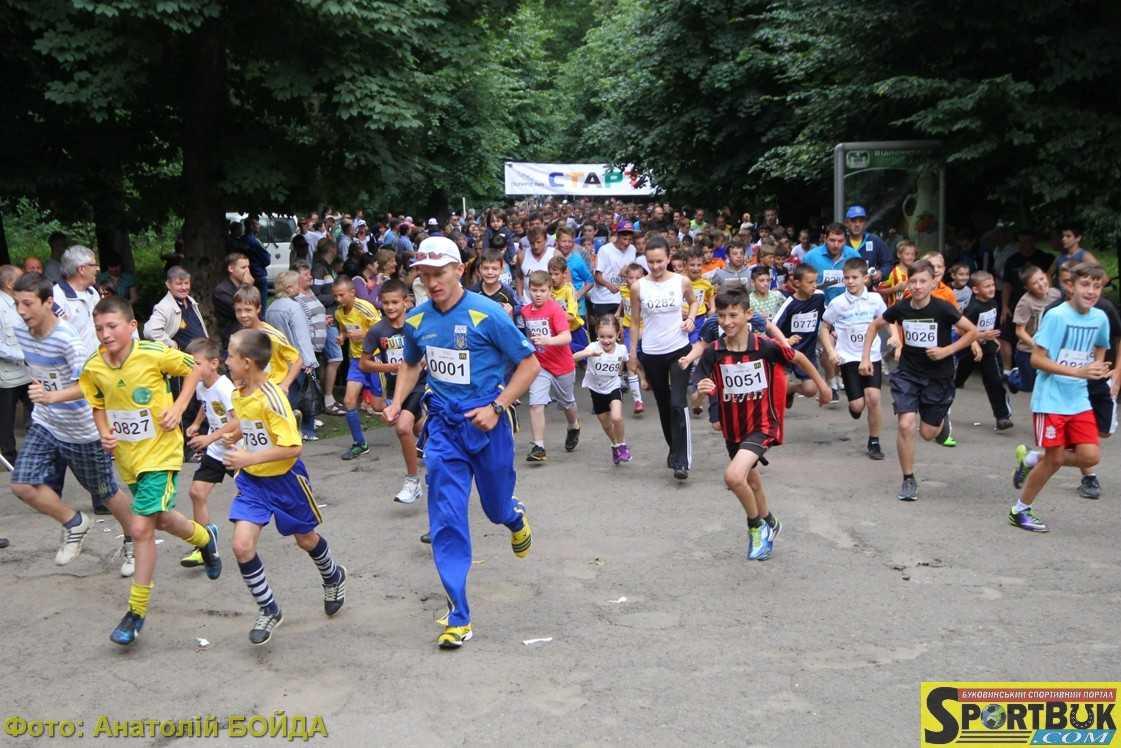 14 червня – «Олімпійський день 2017» в парку ім. Т. Шевченка