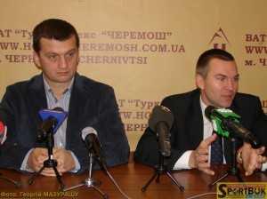 Сергій Левчук і Станіслав Золотухін