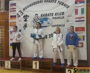 Бронзова призерка – Гванца Гвелісіані.