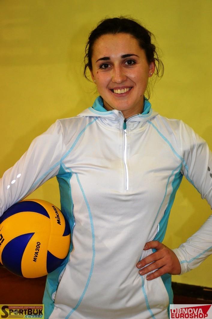 Волейбол: Ліберо «Буковина-ЧТЕІ» Ротар перейшла в команду Суперліги