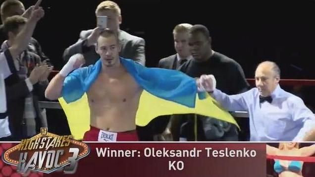 Чернівчанин Тесленко виграв ще один бій на профі-рингу, тепер в США