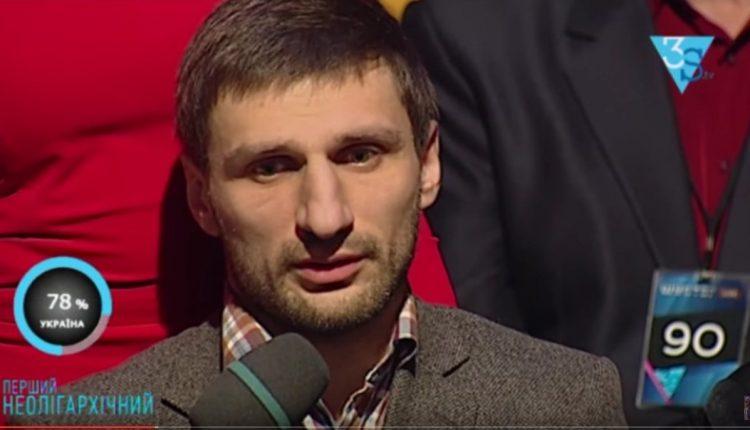 З подачі екс-гравця «Буковини» Саакашвілі назвав Порошенка «баригою» (відео)