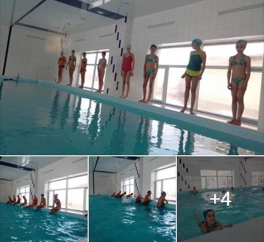 На Вижниччині школярів навчають плавати у новозбудованому басейні
