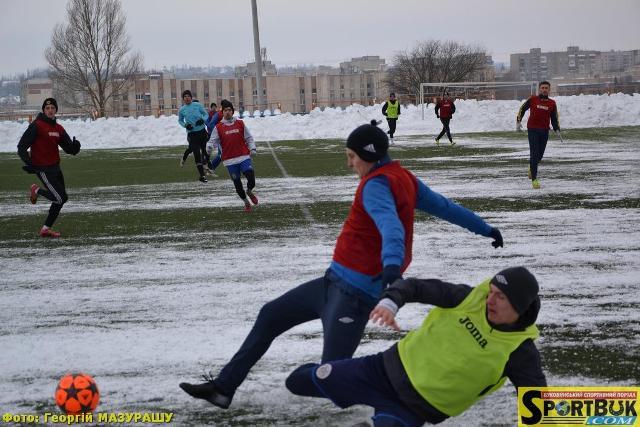 Футбол: «Буковина» виграла 12 лютого у Чернівцях контрольний матч (фото)