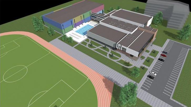 У 2017 р. почнуть будувати спорткомплекс із басейнами і кортами