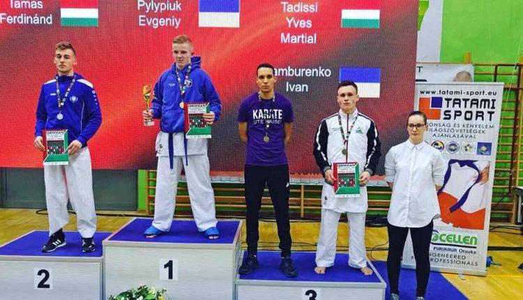 Юний чернівчанин виграв у Будапешті дорослі змагання, здолавши зіркових угорців