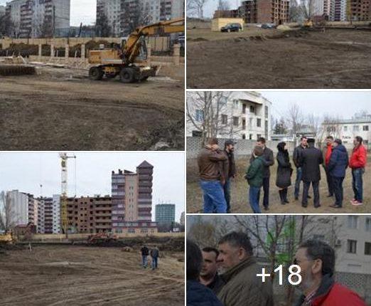 Будівництво сучасного стадіону на місці «Електронмашу» йде повним ходом