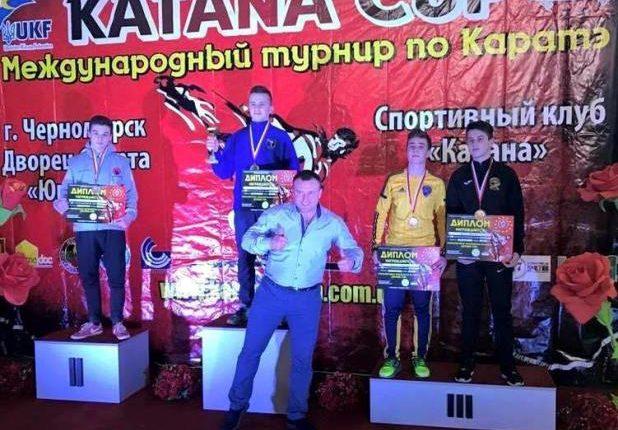Карате: Чернівчани привезли нагороди всіх гатунків з «Katana Cup 2017» (фото)