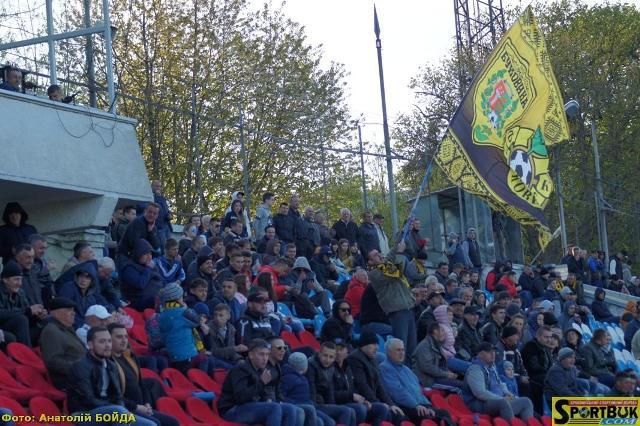 «Буковина» – ФК «Тернопіль» 18.04.17 (відео, фото)