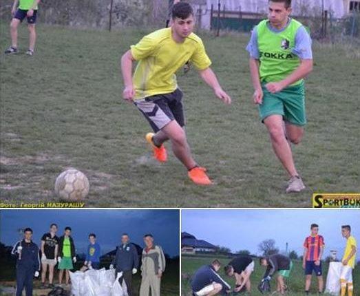 На Цецино – футбол з прибиранням і «космічною» допомогою (фото)