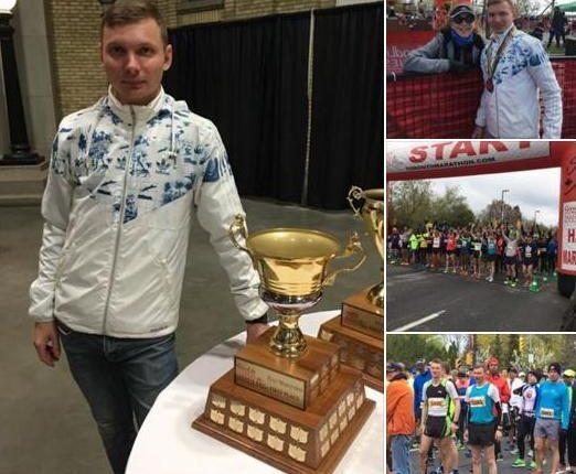 Буковинець відзначився «медально» на «Toronto Marathon 2017» (фото)
