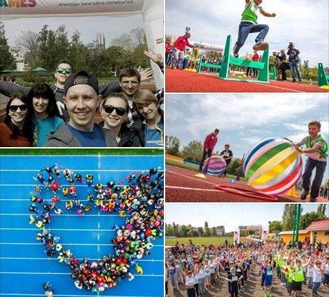 Чернівчанин долучився до проведення «Kids Athletics Games» на Одещині