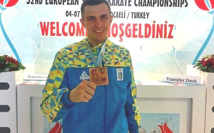 Буковинець Чоботар – призер Євро-2017 з карате вже в олімпійському статусі (фото)