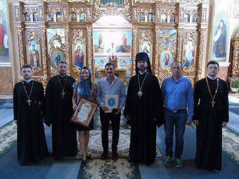 Президент ФК «Буковина» отримав високу церковну нагороду