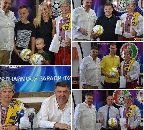 Матч Фінляндія – Україна (1:2) «закрили призами» у Чернівцях (фото)