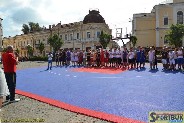 До Дня міста 2017 у центрі Чернівців – баскетбол 3х3
