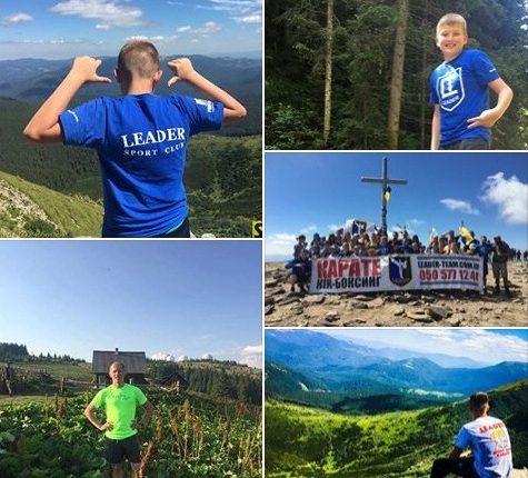 Юні чернівецькі спортсмени і олімпійці підкорюють гори (фото)