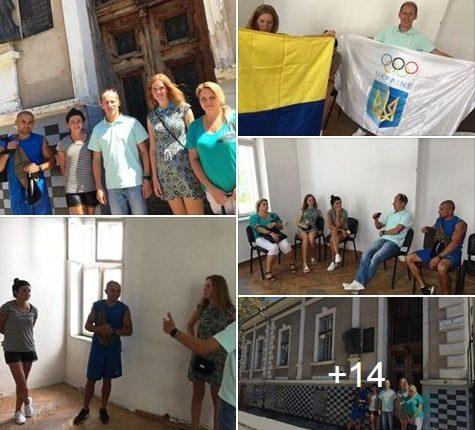 Зіркові спортсмени обговорюють, яким буде «Олімпійський дім» у Чернівцях