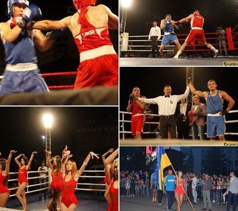 Відкриття залу боксу в Глибоці і супер бої до Дня Незалежності 2017 (фото, відео)