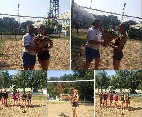 Волейбольна іменинниця подарувала собі «пляжну перемогу» (фото)