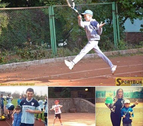 Сини чернівецьких футболістів відзначаються у великому тенісі (фото)