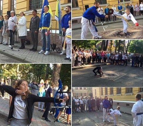 Олімпійські уроки 2017 з чемпіоном світу – у Чернівцях та області (фото)