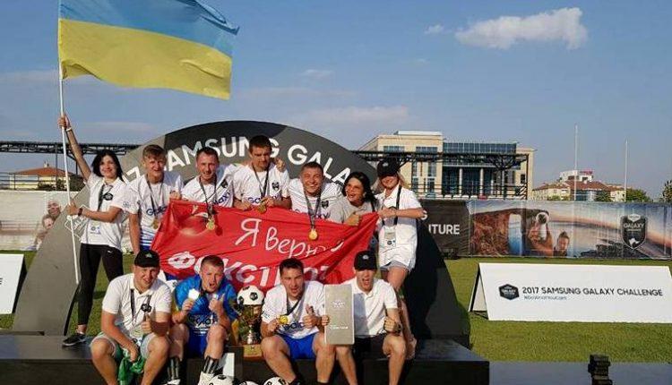 Україна з чернівчанином у складі виграла світові футбольні баталії (відео, фото)