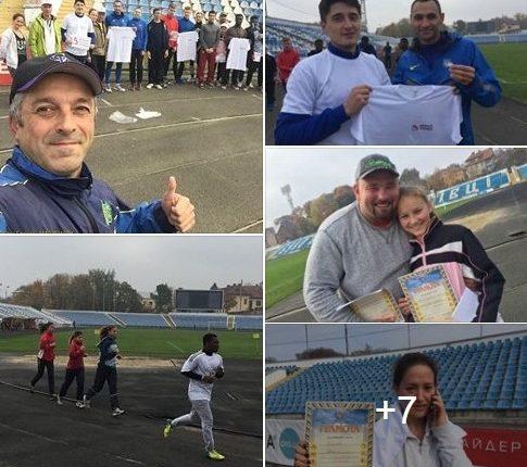 За участь в оздоровчих пробіжках – футболки та інші призи (фото)