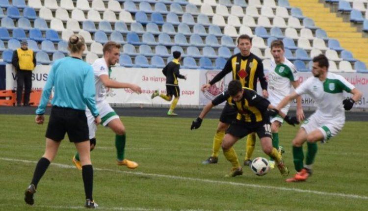 Футбол: «Полісся» – «Буковина» 27.04.18 – в онлайні (відео)