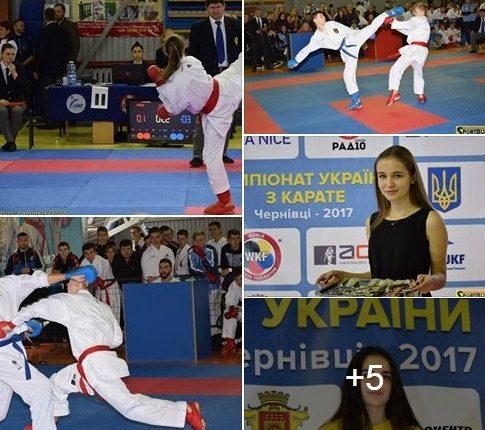 Чемпіонат України з карате 2017: Буковина – і на п'єдесталі, і в збірній (фото, відео)