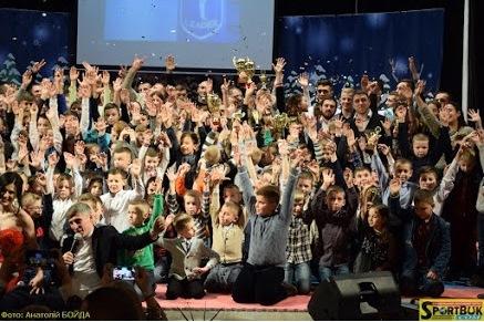 Свято на честь ювілею СК «Лідер» (відео, фото)