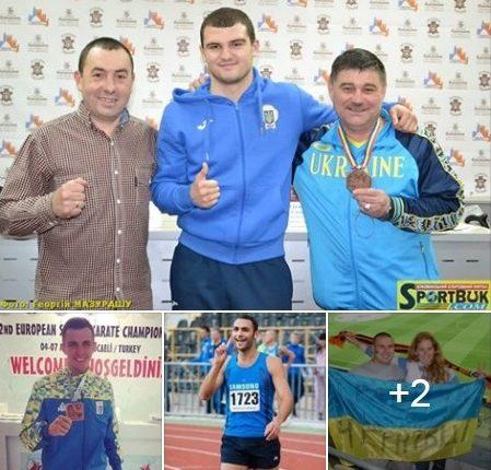 Кращі спортсмени Буковини 2017 р. (голосування)