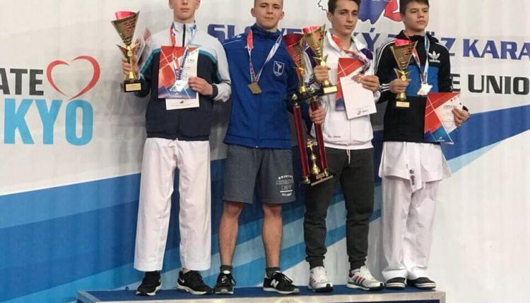 Карате: Чернівчани відзначились на Grand Prix Slovakia 2018