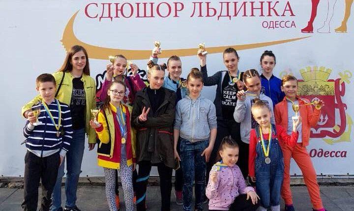 Чернівецькі фігуристи привезли 10 нагород зі «SKATE ODESSA 2018»