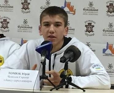 Бокс: Буковинець забезпечив собі медаль на Євро-2018 U-18! (відео)
