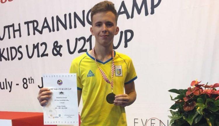 Чернівчанин – на п'єдесталі Karate1 Young Cup 2018 (фото)