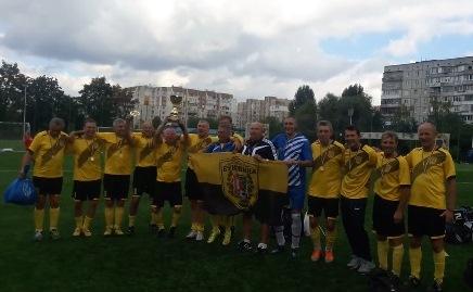 Буковинські ветерани виграли чемпіонат України 2018 р. 45+! (фото, відео)